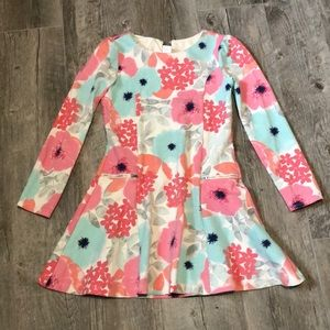Girls Gymboree Floral Dress Size 12